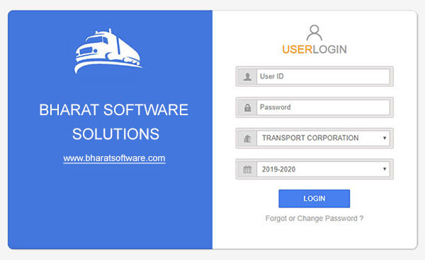 online transport management system