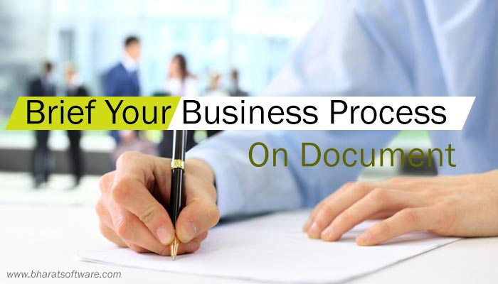 Describe Business Process On Document