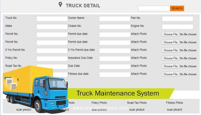 Truck Maintenance System