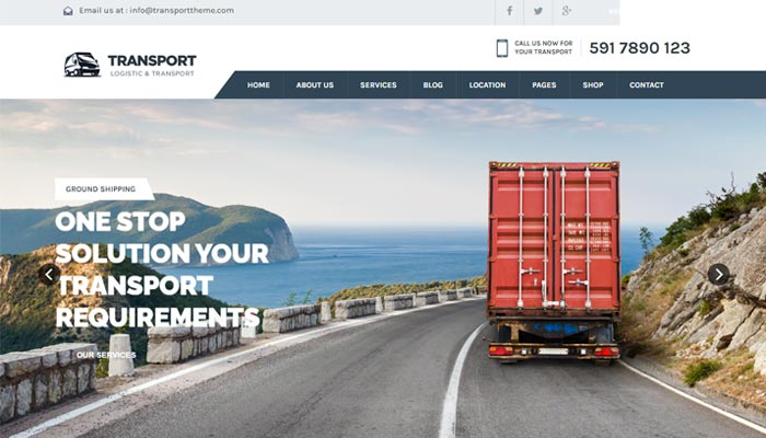 website for transporter