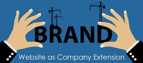 Be a Brand With Website