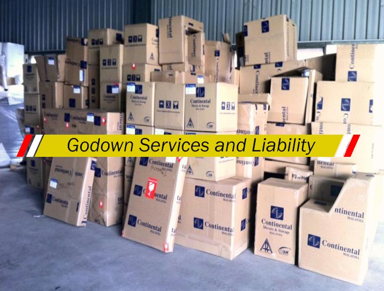How to manage Godown services and Liability